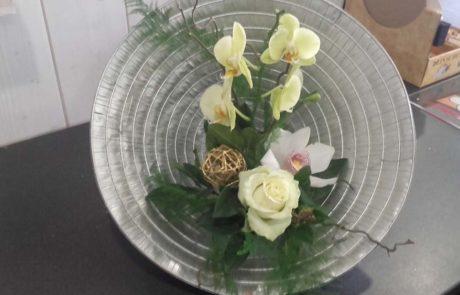 Composition florale Rizière D'Fleurs Fontenay-le-Comte Vendée