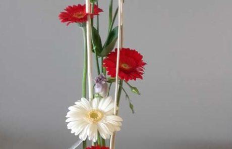 Composition florale Natacha D'Fleurs Fontenay-le-Comte Vendée