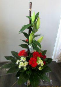 bouquet hauteur Exubérance D'fleurs fleuriste Fontenay le Comte