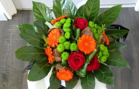 Laine, bouquet d'automne D'fleurs fleuriste Fontenay le Comte