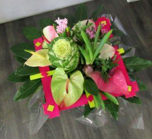 Bouquet Angelique - D'Fleurs, fleuriste à Fontenay-le-Comte en Vendée
