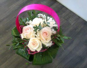 bouquet Rose-Marie D'fleurs fleuriste Fontenay le Comte