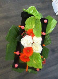 bouquet Ambre d'fleurs fleuriste Fontenay le Comte