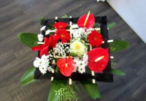 bouquet Amor D'fleurs fleuriste Fontenay le Comte
