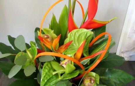 Bouquet Caraïbe - D'Fleurs, fleuriste à Fontenay-le-Comte en Vendée