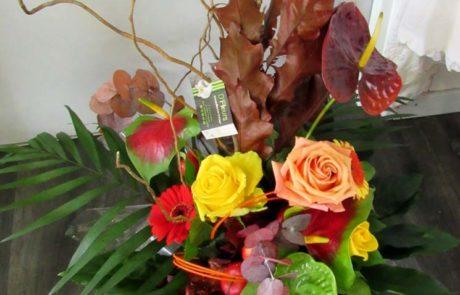 Bouquet Florentin - D'Fleurs, fleuriste à Fontenay-le-Comte en Vendée