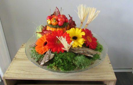 Halloween D'fleurs fleuriste créateur Fontenay le Comte