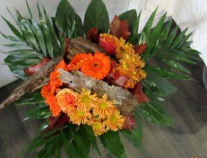 Bouquet Sous-bois - D'Fleurs, fleuriste à Fontenay-le-Comte en Vendée
