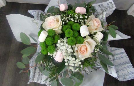 Bouquet Machmalo - D'Fleurs, fleuriste à Fontenay-le-Comte en Vendée