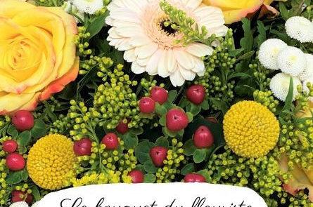 bouquet du fleuriste jaune