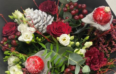 Noël rouge et nature
